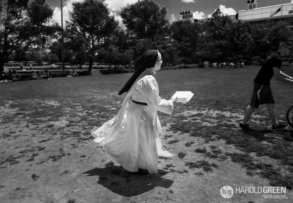 """Flying Nun"" Houston, Texas © 2014 Harold Green."