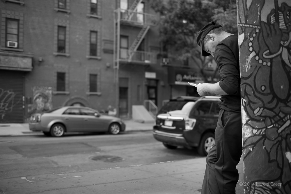Letter From Home Spanish Harlem, New York City © 2014 Harold Green.