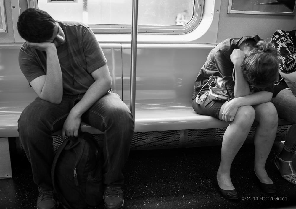 Monday. New York City. © 2014 Harold Green.