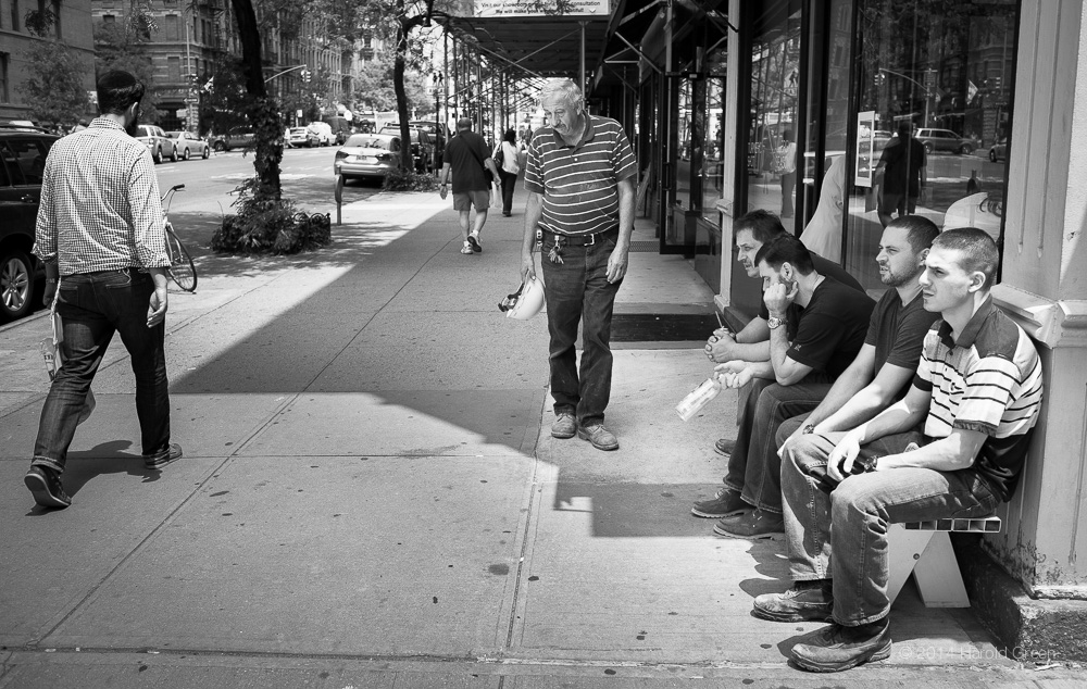 """Long Day"" Hell's Kitchen, New York City © 2014 Harold Green."