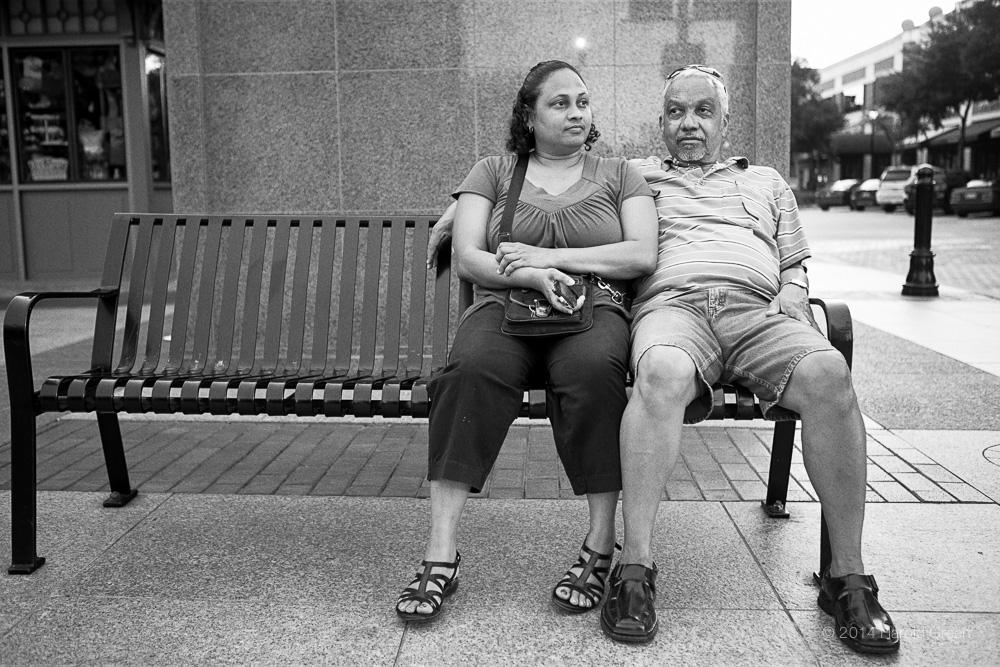 """""""No Hurry"""" Sugar Land Town Square, Houston, TX © 2014 Harold Green."""