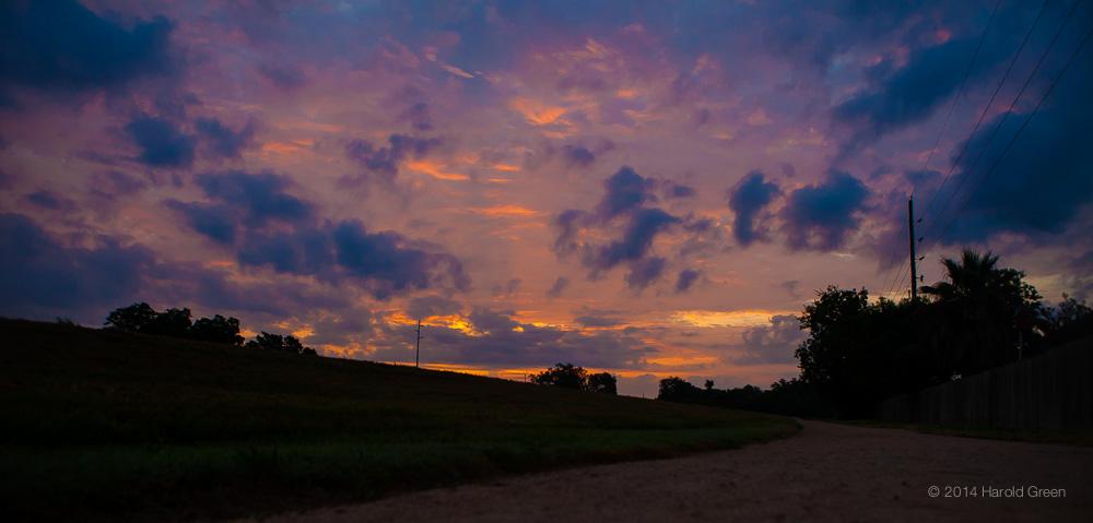 Sienna Sunrise Sienna Plantation. TX © 2014 Harold Green.