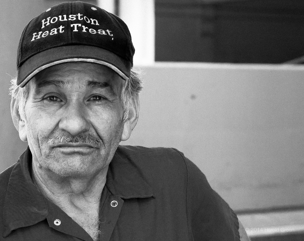 """Juan"" Houston, Texas © 2014 Harold Green."