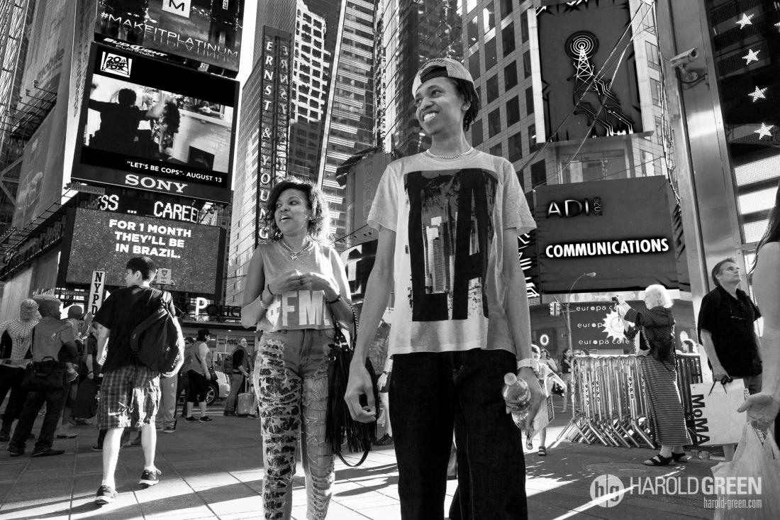"""The Square"" New York City © 2014 Harold Green."