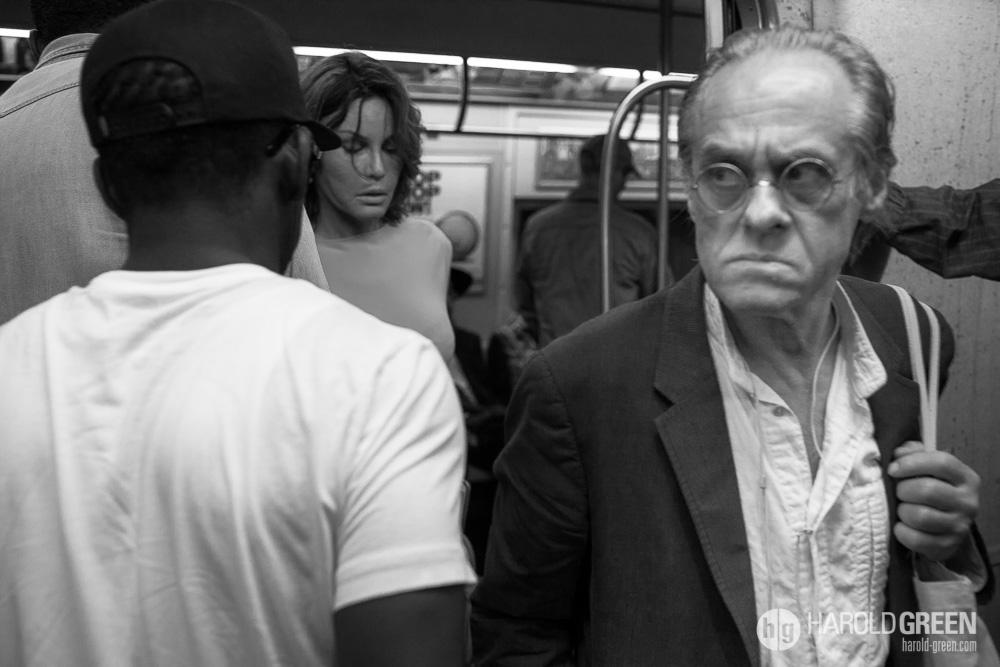 """Monday On The Metro"" New York City © 2014 Harold Green."