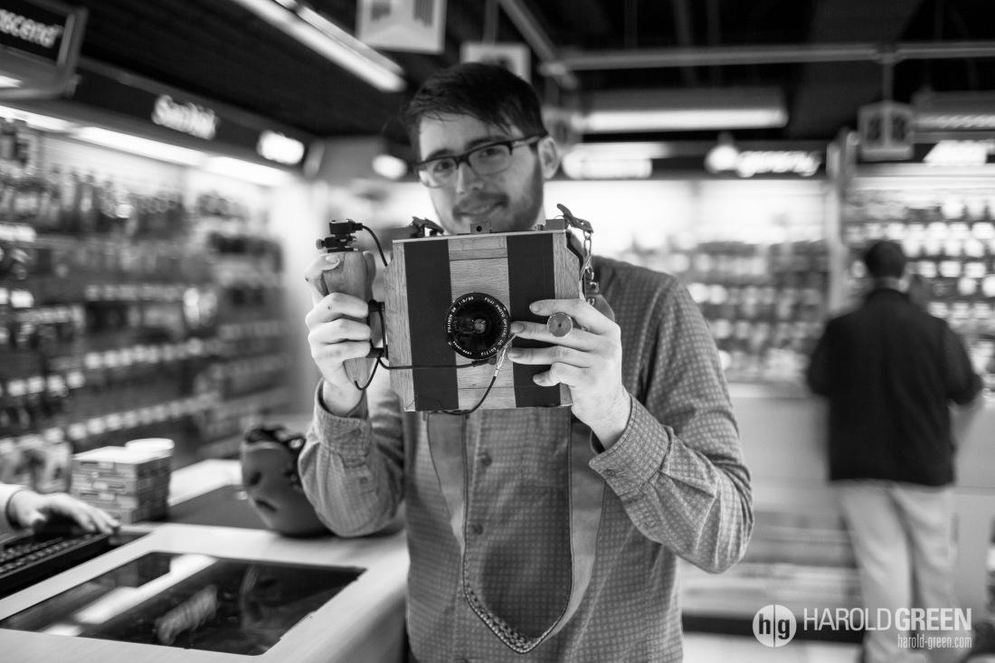 """""""Homegrown Camera"""" New York City © 2014 Harold Green."""