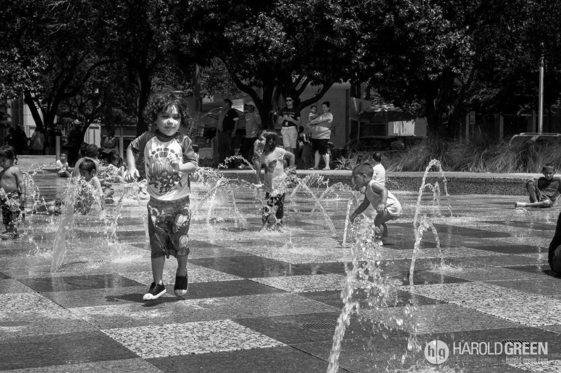 """""""Splish Splash"""" Houston, Texas © 2014 Harold Green."""