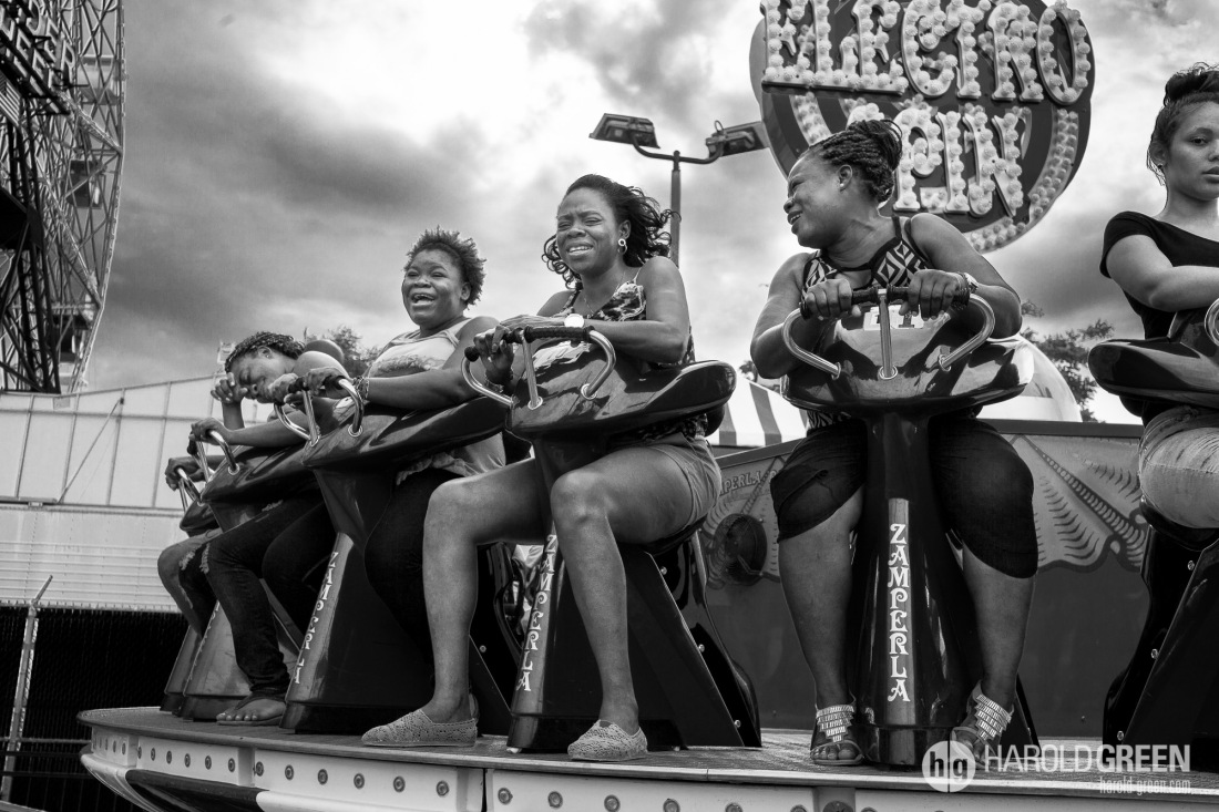 """""""Not Sure About This"""" Coney Island, New York City © 2014 Harold Green."""