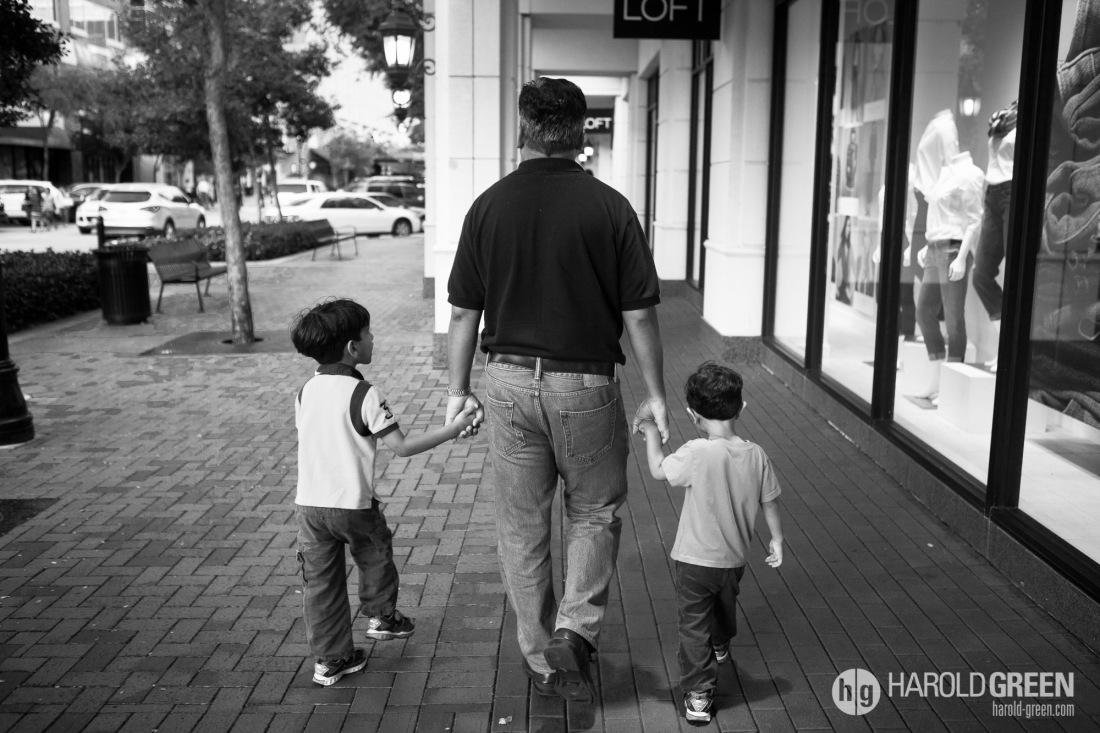 """""""Wherever He Goes"""" Houston, TX © 2014 Harold Green."""