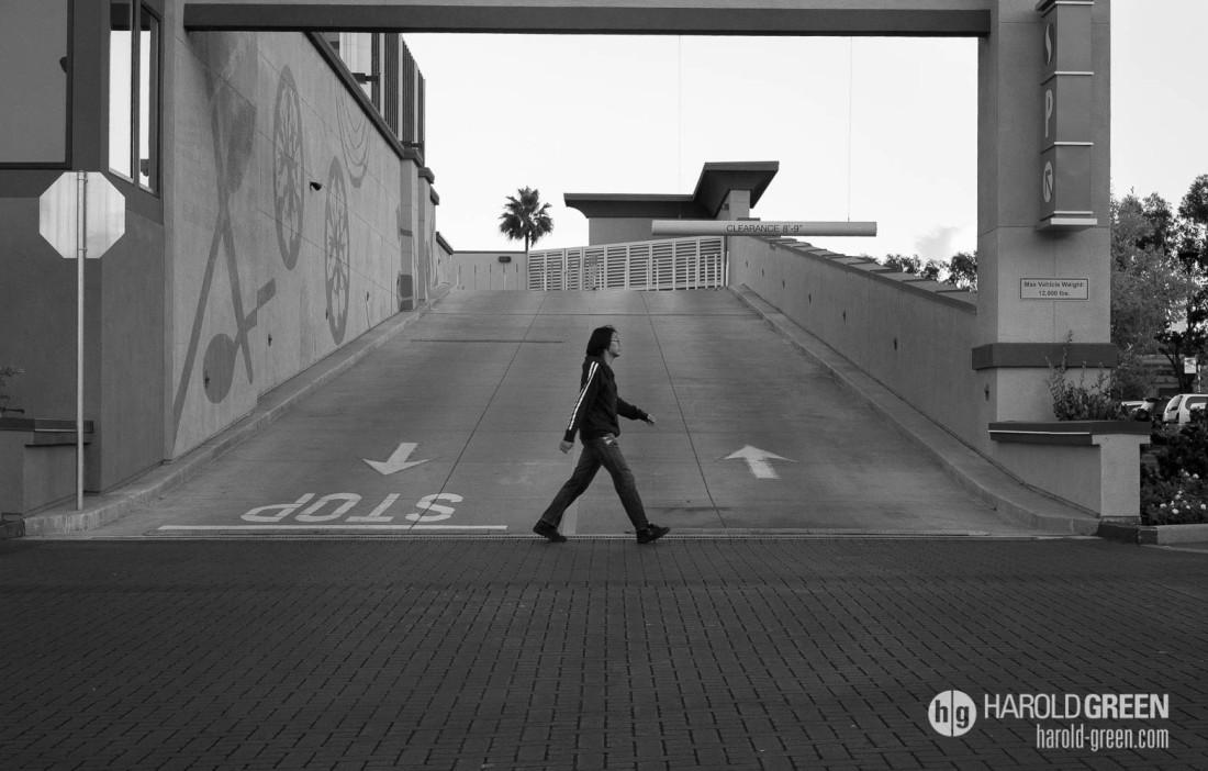 """Walk"" © 2014 Harold Green."