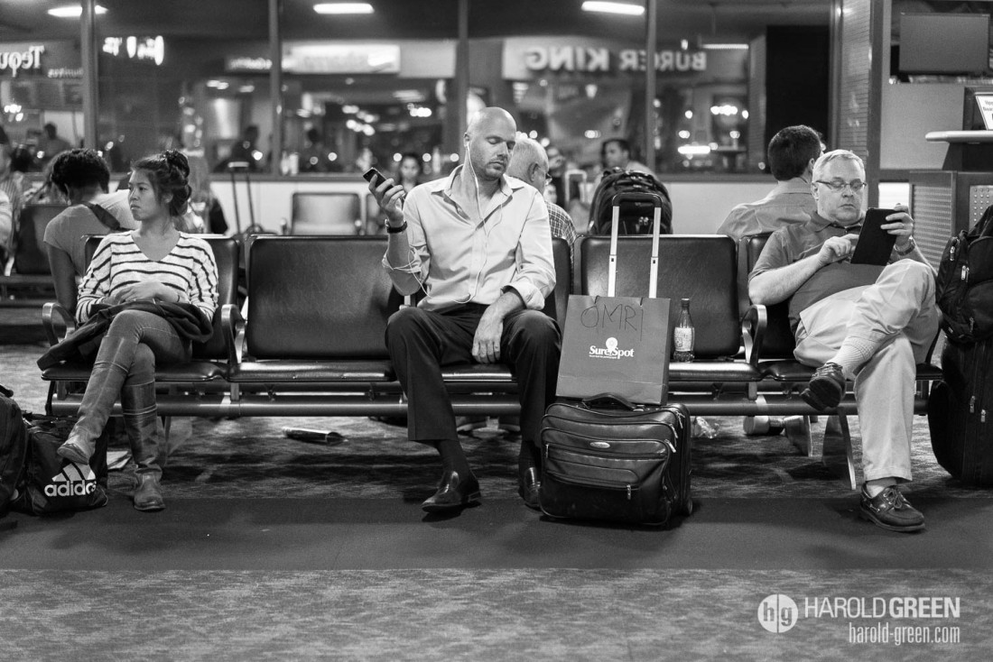 """That Wait"" Las Vegas, NV © 2014 Harold Green."