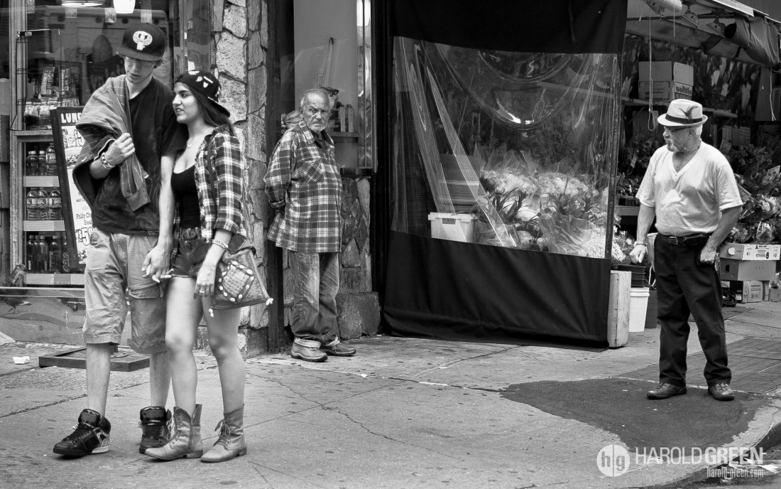 """Really Dude?"" New York, NY © 2014 Harold Green."