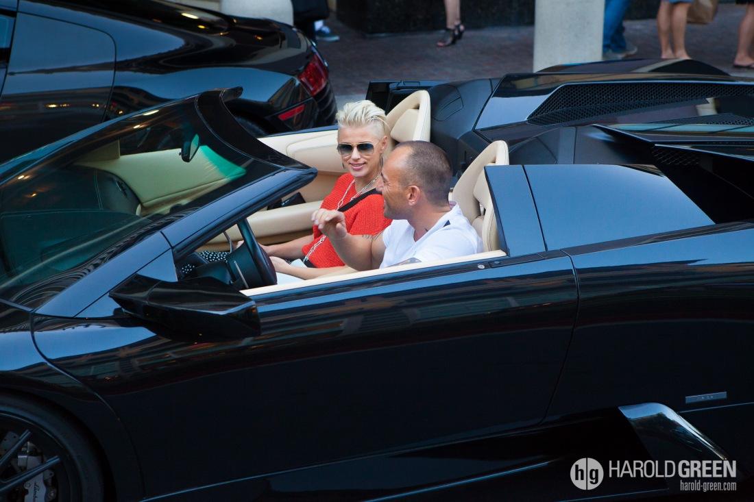 """""""Lamborghini"""" San Jose, California © 2014 Harold Green."""
