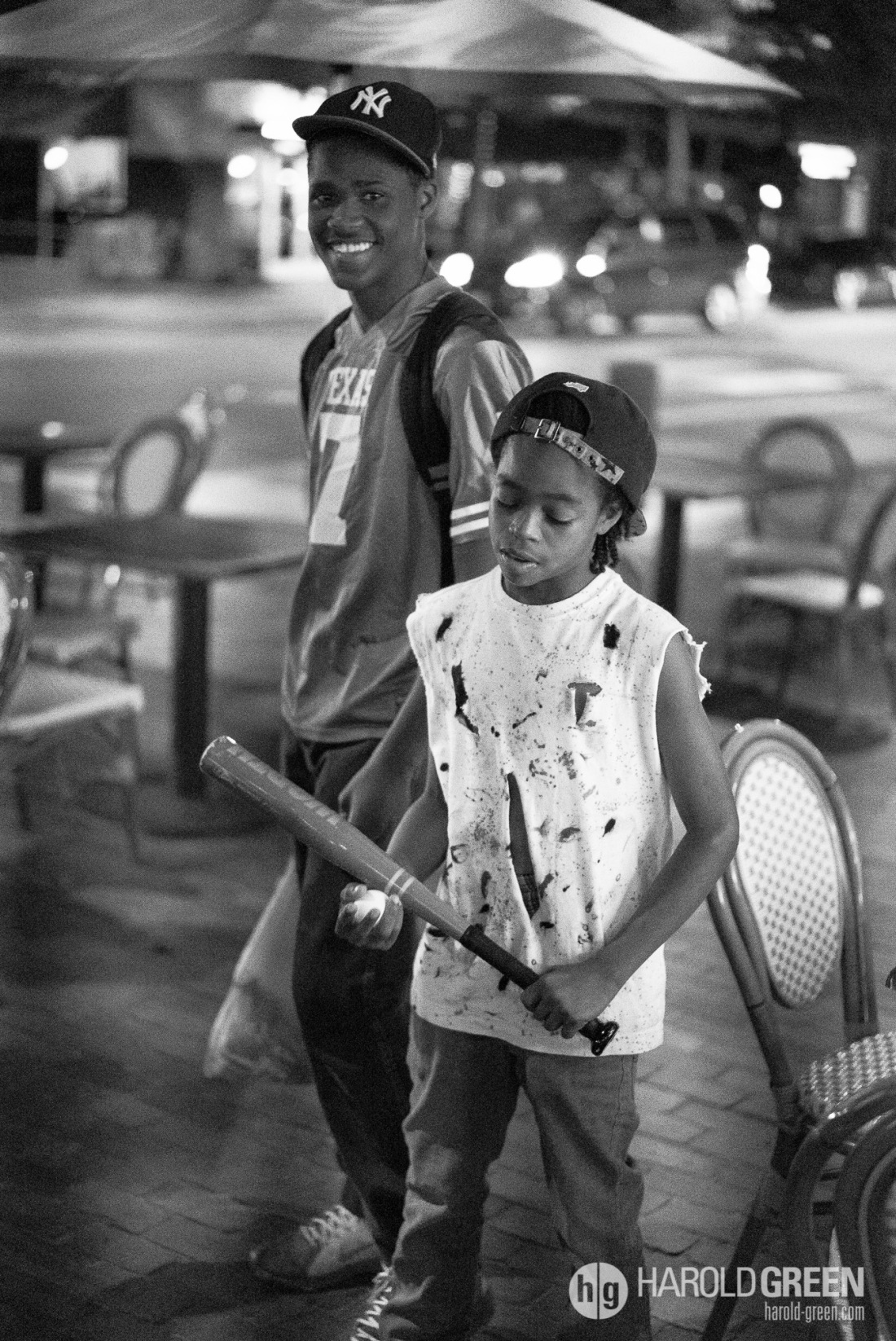 """Warriors"" Houston, TX © 2014 Harold Green."