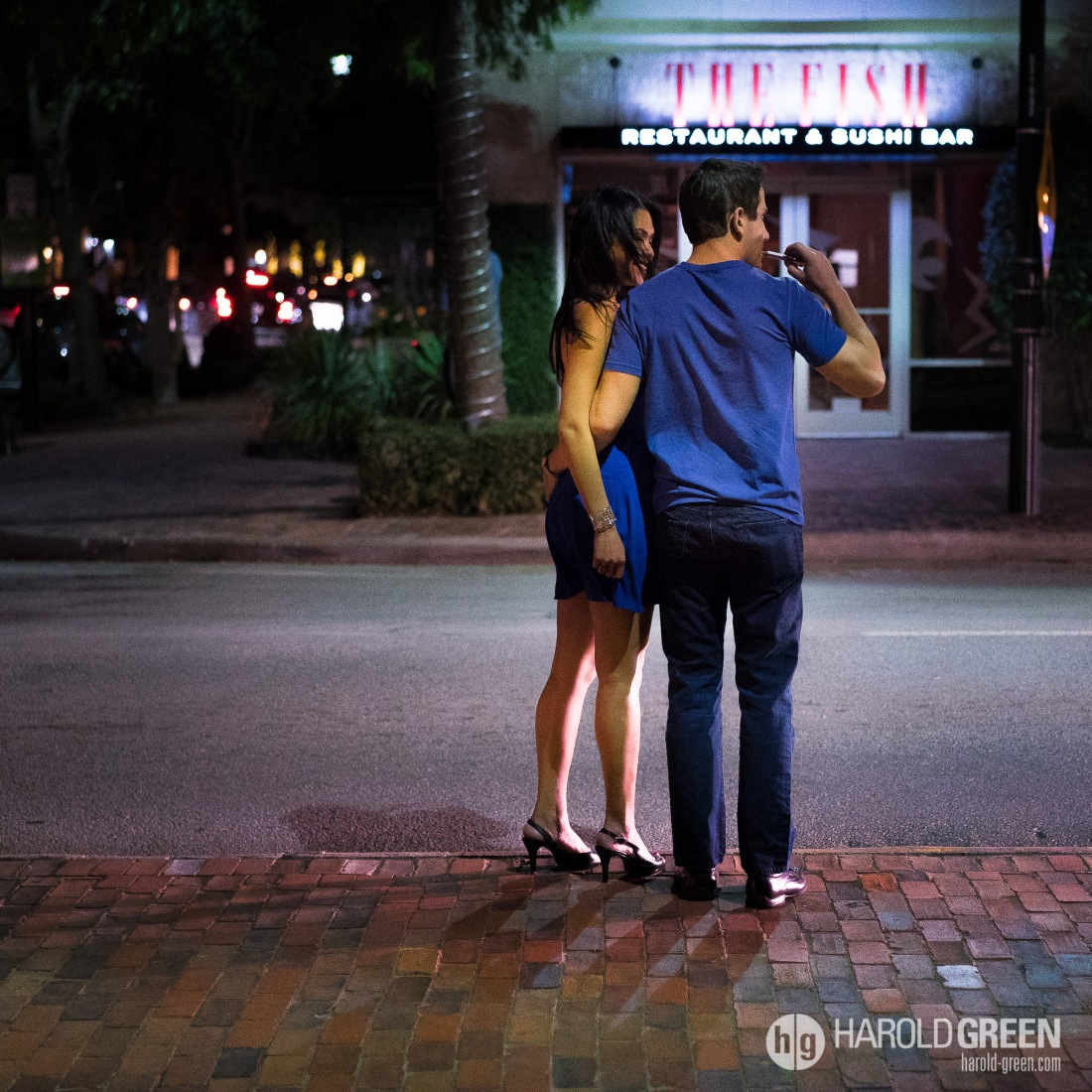 """Date Night"" Houston, TX © 2014 Harold Green."