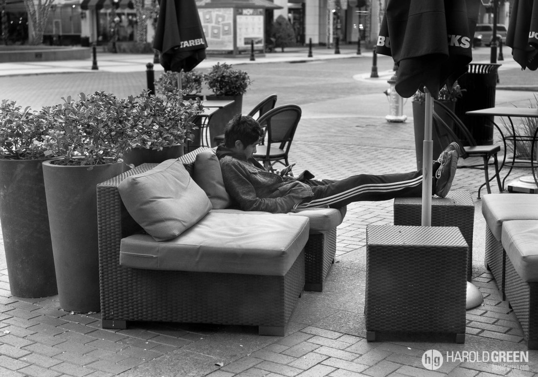 """Chillin"" Houston, TX © 2014 Harold Green."