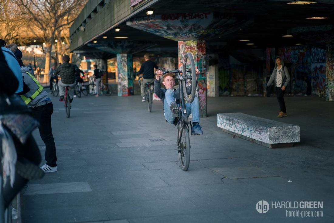 """The Biker"" © 2015 Harold Green."