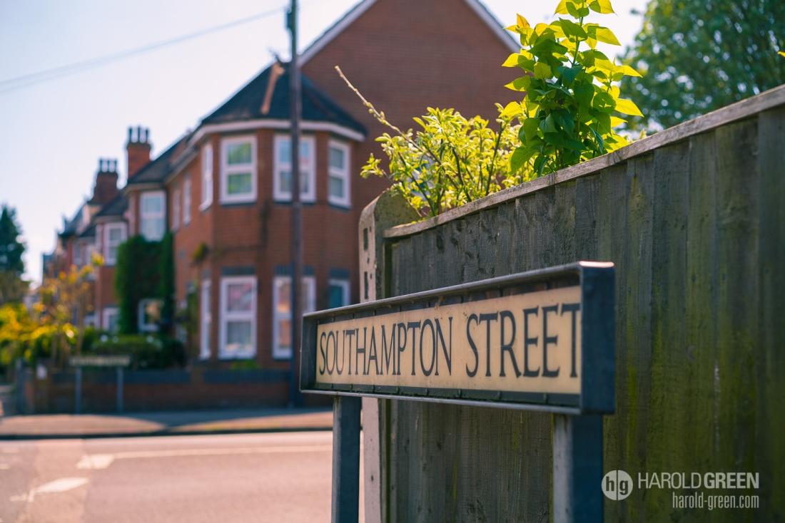 """Southampton Street"" Farnborough, England  © 2015 Harold Green."