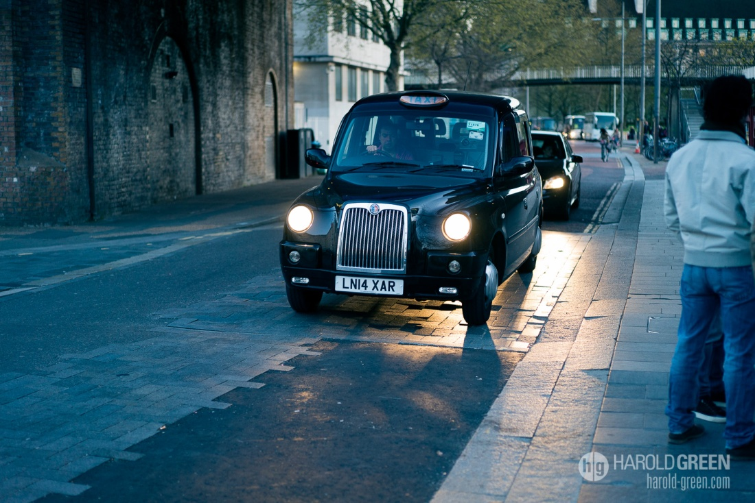 """Hackney Carriage"" London © 2015 Harold Green."