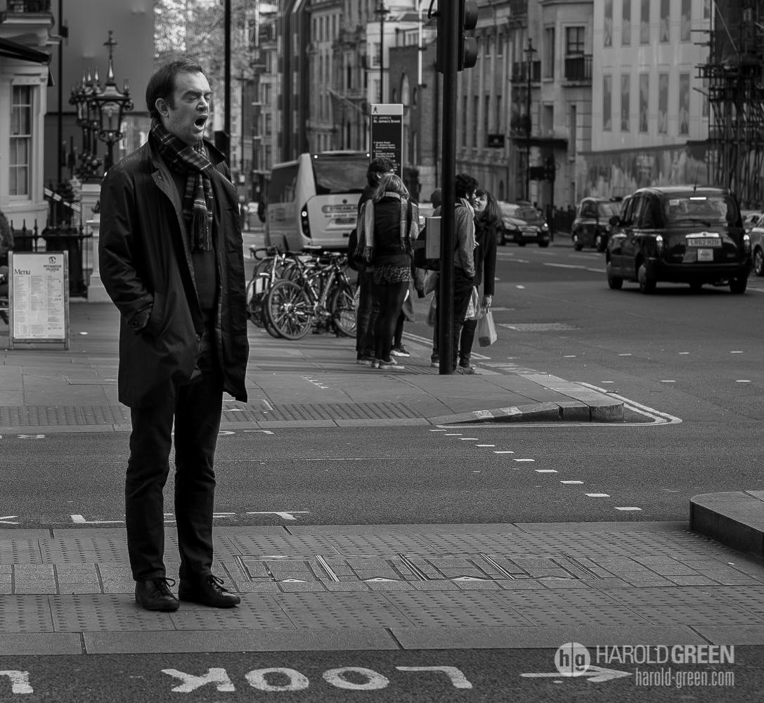 """Monday"" London © 2015 Harold Green."