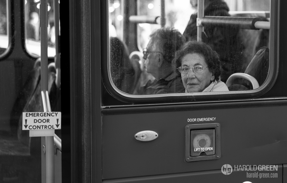 """Passenger"" London © 2015 Harold Green."