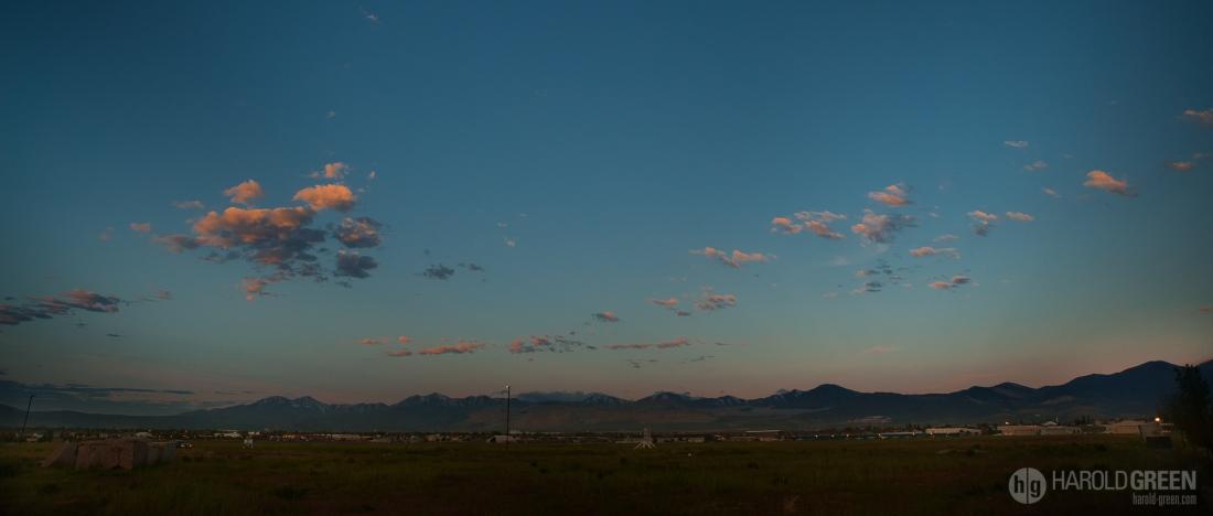 """Wasatch Sunrise"" Salt Lake City, UT © 2015 Harold Green."