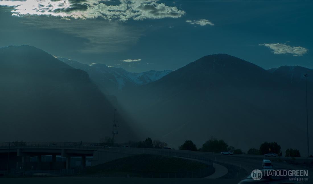 """Early Morning Road Trip"" Salt Lake City © 2015 Harold Green."