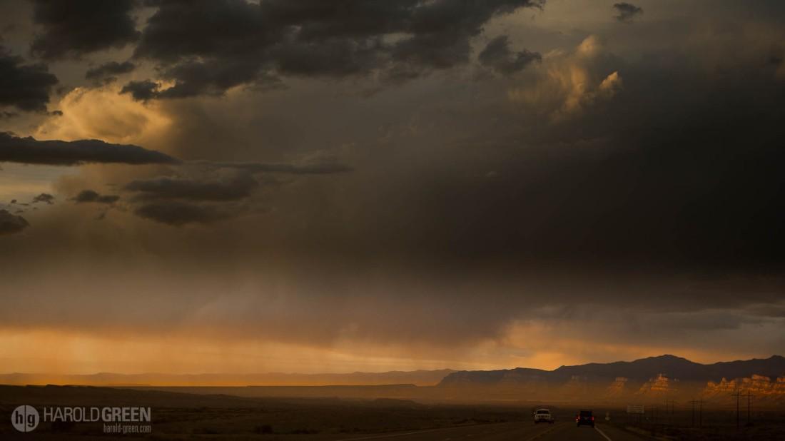 """Virga"" Utah Desert © 2015 Harold Green."
