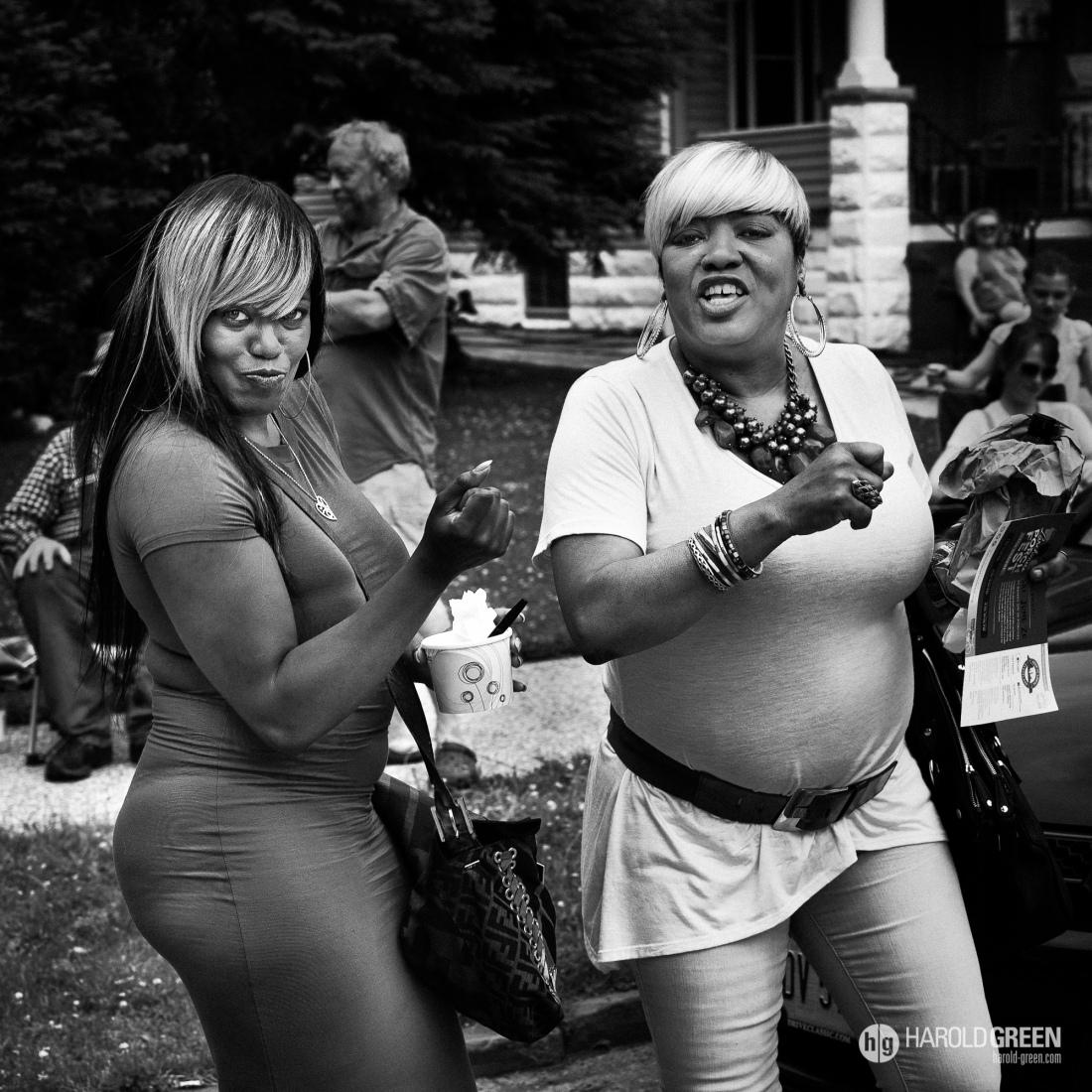 """""""Saturday"""" Cleveland © 2015 Harold Green."""