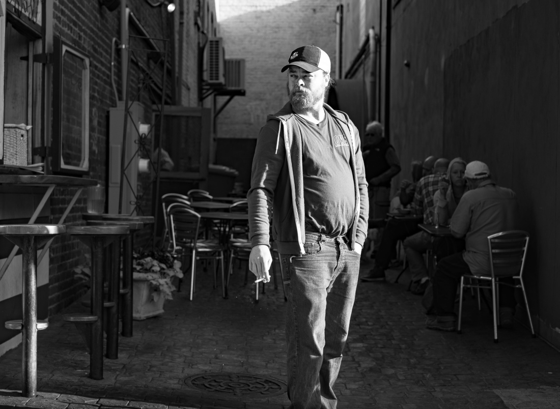 """Keeping Watch"" Asheville, NC © 2015 Harold Green."